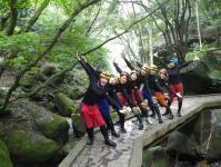舞台は日本有数の渓谷美!大自然を満喫しましょう♪