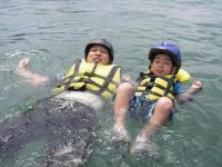 小さなお子様でも安心、ベテランガイドがしっかりサポートします。