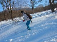 歩いて、登って、滑れるスキー