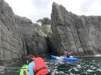 荒々しい岩肌や特徴的な地形など、見どころ満載!