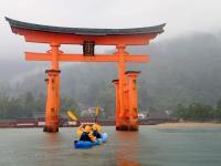 世界遺産・厳島神社をシーカヤックでお参りしよう!