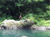 夏は水遊びをすることも!思いっきり楽しもう!