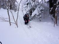 坂道を滑ってみよう!