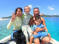 阿嘉島に住んで18年以上!経験豊富な大島夫妻がご案内