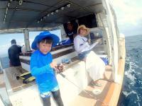 釣りとシュノーケリングで1日楽しむコンボコースもあり