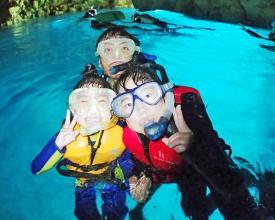 【1グループ貸切!】 シーカヤック&青の洞窟熱帯魚シュノーケル