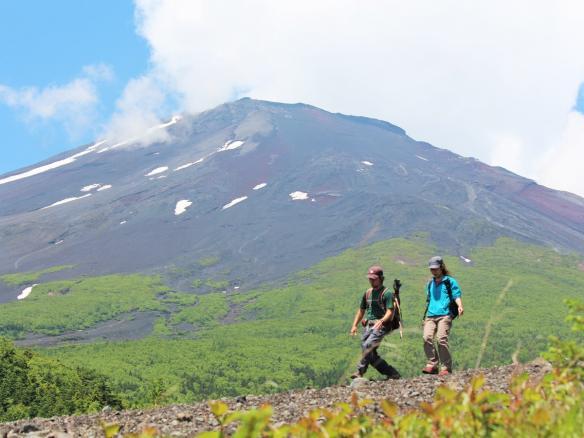 富士山トレッキング