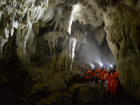 西表島ケイビング(洞窟探検)