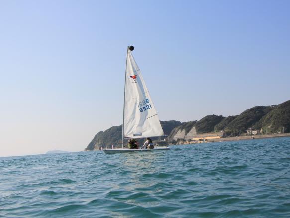 湘南逗子 ヨットセーリング(ディンギー)