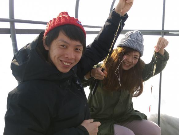 札幌 ワカサギ釣りツアー