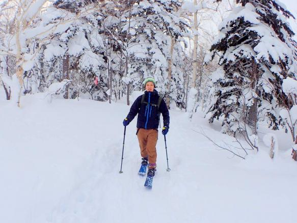 富良野(大雪山) 歩くスキーツアー