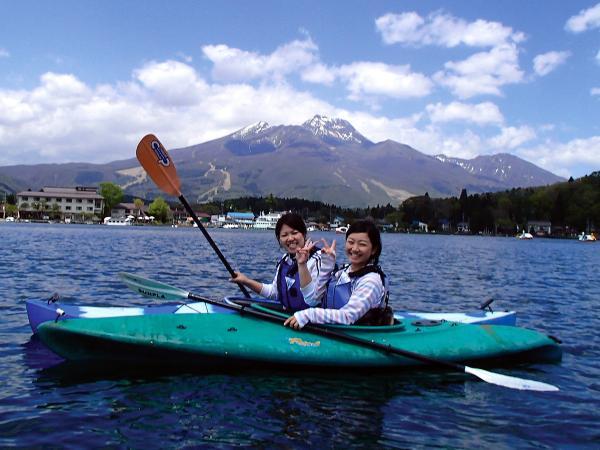 野尻湖 カヌー・カヤック