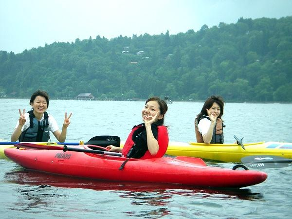 野尻湖 カヤック