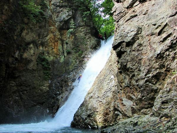 20mの滝フォックスにチャレンジしよう!