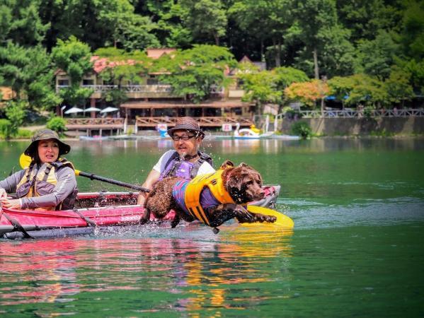 四尾連湖カヌー (カヤック)