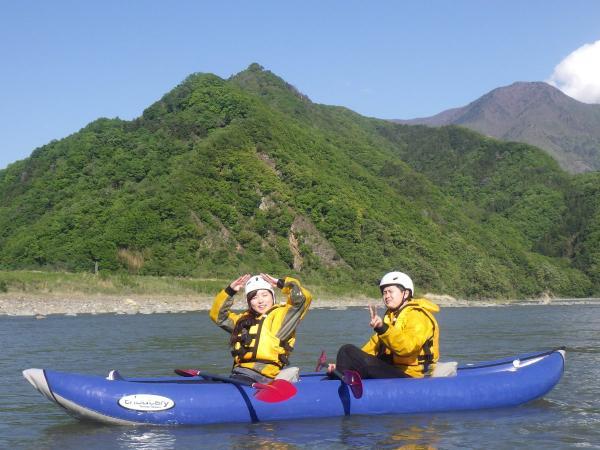 富士川上流ラフティング