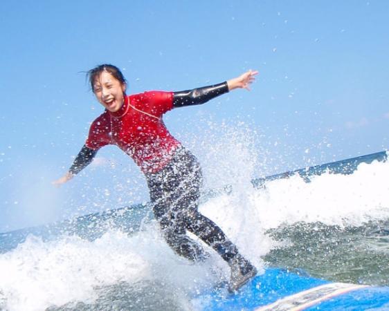 沖縄本島・恩納村 サーフィン