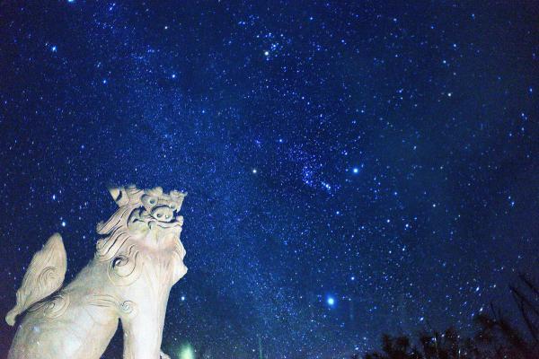 満天の星空とはまさにこのこと!