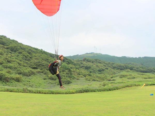 自分の力で飛べることの気持ちよさ!