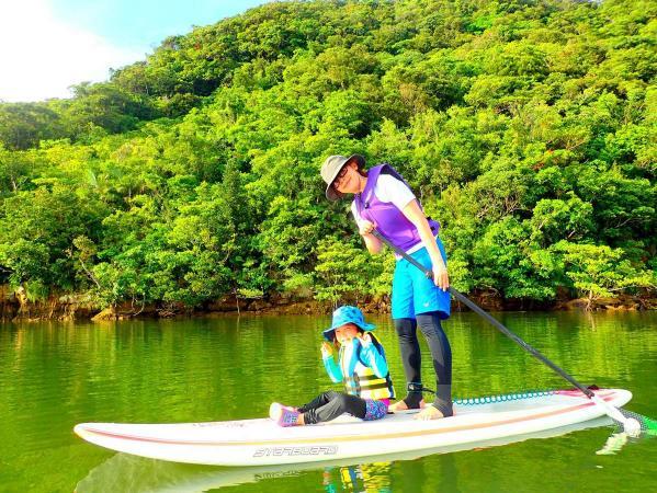 西表島 マングローブSUP