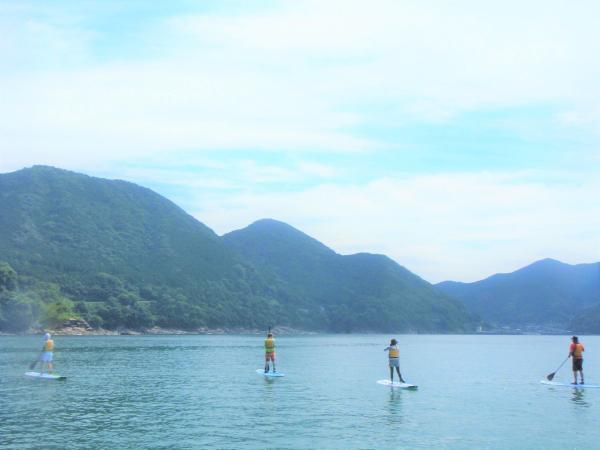 自然との一体感を感じながら、海の上をお散歩。