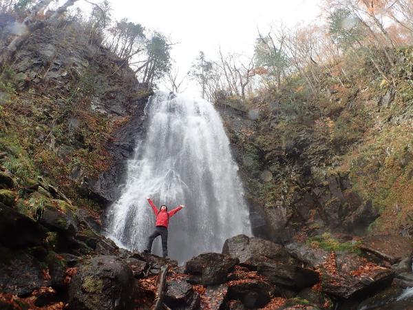 迫力の小野川不動滝