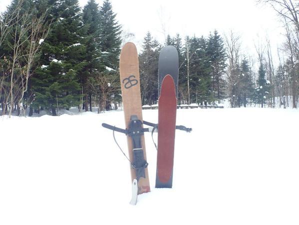 スキーシューで未経験者も手軽にパウダースノーを楽しめる!