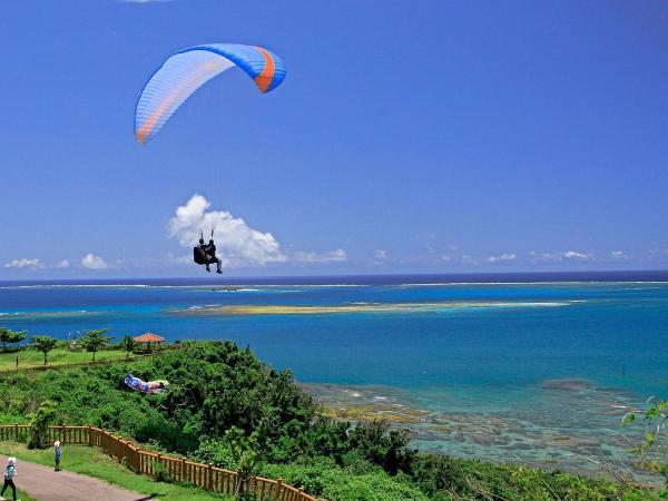 絶景の沖縄南部の海!