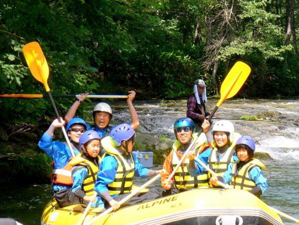 シーソラプチ川で四季折々の自然をたっぷり満喫できる!