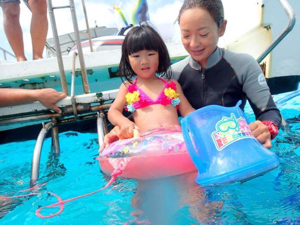 小さい子も海に入れる!家族みんなで思い出を作りませんか?