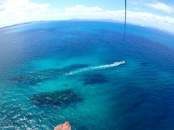 選べるロープの長さ!100m・150m・200mの3種類!200mロープはなんとビル約18階の高さ!地球の丸みを感じることができます!