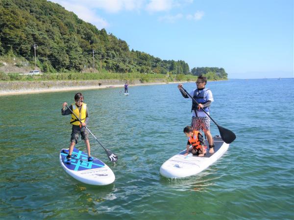 7歳からOK!誰でも気軽に楽しめる!琵琶湖でSUPデビュー