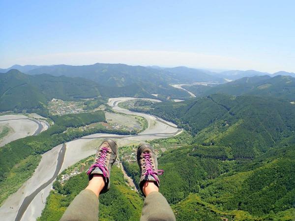 高度差700mからのロングフライト!空の旅をたっぷり楽しめる!