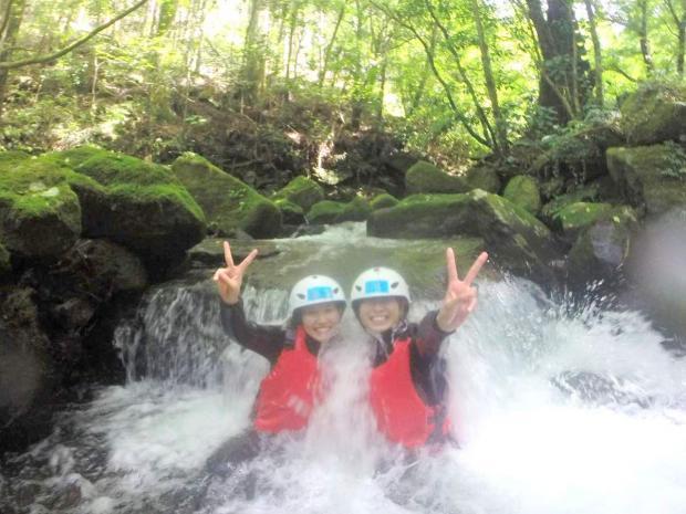 球磨川支流 キャニオニングツアー
