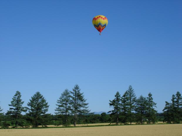 十勝 熱気球フリーフライト