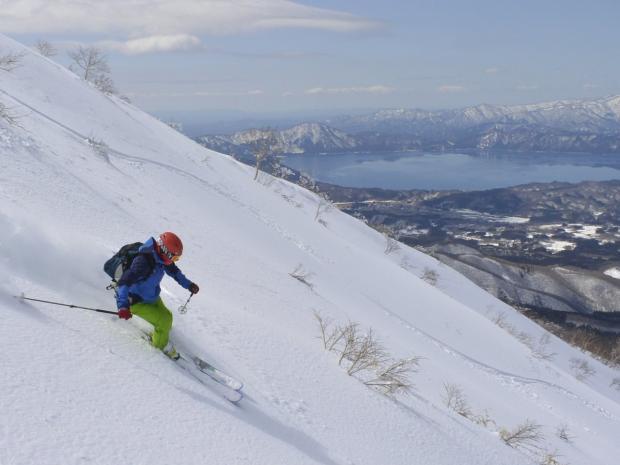 田沢湖(秋田駒ケ岳周辺) スキー・スノーボード
