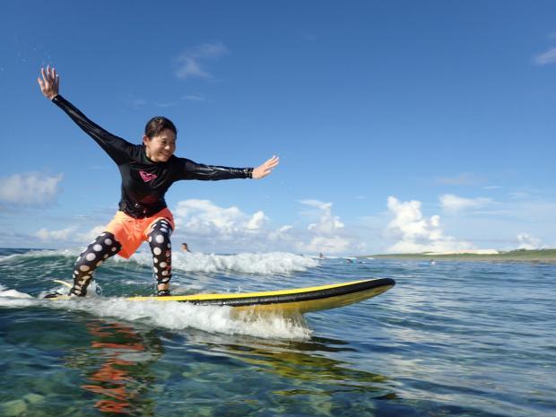 沖縄本島 サーフィン