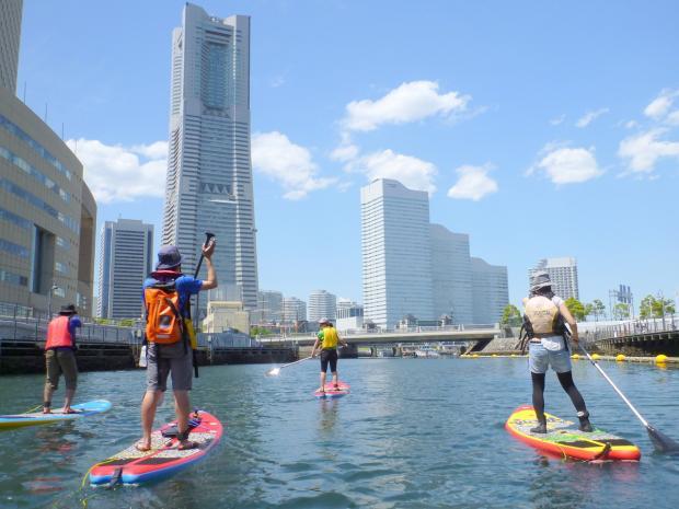 横浜Canal SUP ツアー
