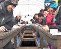 桧原湖 ワカサギ釣り