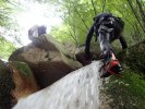 八ツ淵の滝 シャワークライミング