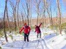 玉原 歩くスキー