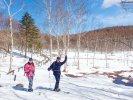 入笠山 スキーシュー(スノーハイク)
