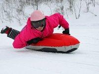 ふかふかの雪、ゲレンデからみる雪景色も最高の思い出になること間違いなし!
