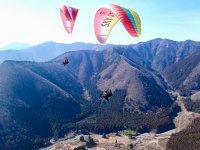 空中からこんな絶景が楽しめます。優雅にタンデムフライト。【タンデムフライト】