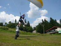 自分の力でパラグライダーを操作し浮遊体験《半日体験コース》