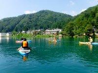 山々に囲まれたのどかな風景に癒やされます