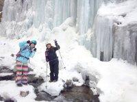 厳冬期限定!雲竜渓谷ツアー!神秘的な氷の世界を見に行こう!※アイゼンを使用した、スノートレッキングツアーです。