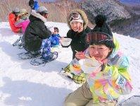 全ツアーあたたかいランチつき!雪景色の中であったかランチを味わう贅沢な時間をお楽しみください!