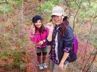 歩く距離が短く、少人数できめ細かいツアーを行います。気軽に秋の山登りを満喫しましょう!