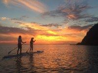 「日本の夕陽100選」にも選ばれた仁尾の夕陽を眺めながらの、ゆったりした時間を楽しむ!